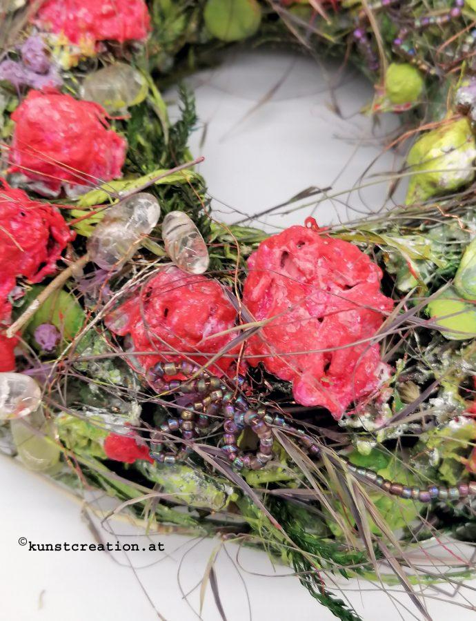 Steinreiche Rosenwiese